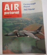 Air Pictorial Magazine Farnborough Report Sea Harrier October 1978 Fal 062315R