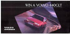 Volvo 440 GLT Competition Entry Form 1994 UK Market Leaflet Brochure
