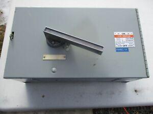 Gould V7F3604 Vacu Break Switch 200 AMP 600 VOLT