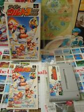 Super Famicom SFC:Super Ultra Baseball [TOP CULTURE BRAIN] COMPLET - Jap