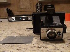 Polaroid Land Camera Square Shooter 2 with Cold Clip #204 **UNTESTED**