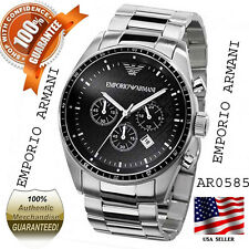 100% Authentic Brand New Emporio Armani Men's AR0585 Stainless steel Watch
