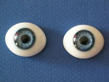 yeux verre bleu Jumeau®20mm-poupée ancienne/moderne-Paperweight doll glass eyes