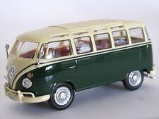 CARARAMA 4-60350 VW Samba Bus Green/White 1/43 New Box