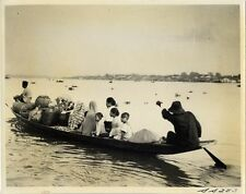 SUMATRA PASSENGER BOAT ON THE RIVER MOOSIE AT PALEMBANG PHOTO