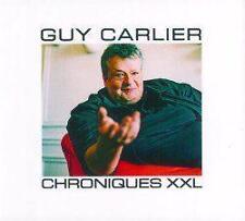 940 // GUY CARLIER CHRONIQUES XXL COFFRET 2 CD NEUF SOUS BLISTER