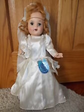 Vintage Horsman Bright Star Composition Doll Original Dress Sleepy Eye Teeth 18""