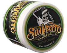 Suavecito Pomade Water Soluble Hair Pomade Matte Hold 4oz