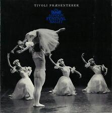 1985 London Festival Ballet Program - Tivoli Koncertsal - Copenhagen Denmark