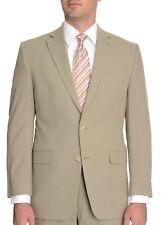 Ralph Lauren Olive Green Seersucker Suit Jacket Blazer 100% Cotton 42S