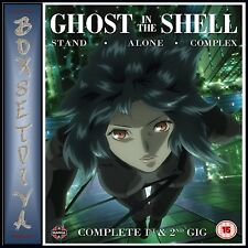 Ghost in The Shell Stand Alone Complex Complete Series Collection DVD
