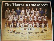 Philadelphia 76ers---California Dreaming---Poster---11x17--Fling Vacations--VHTF
