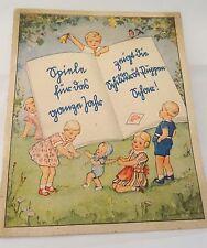 """Schildkröt Werbeheft Celluloidpuppen """" Spiele für das ganze Jahr """"  1920/30"""