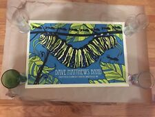 DAVE MATTHEWS BAND POSTER MANSFIELD MA 6/7/10 RARE WORM