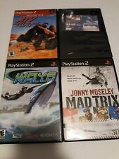 Extreme Sports Lot, ATV Offroad Fury, Wave Rally, Mad Trix, Pro Snowboarder, PS2