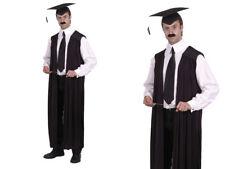 Maestras Vestido Hombre Mujeres Cabeza Teacher Disfraz abrigo capa Capa
