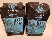 HEB Cafe Ole Coffee Ground Texas PECAN, 12-Ounce Bags 2 Pack FREE Shipping