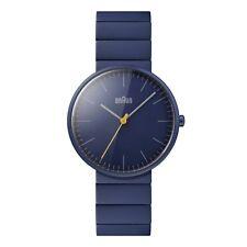 Braun UNISEX Ceramic Quartz Watch With Blue Ceramic Strap BN0171NVNVG