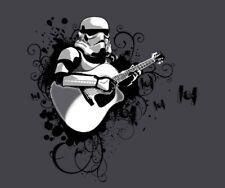 Stormtrooper Star Wars Strumtrooper Guitarist Satire Parody Teefury Women Shirt
