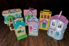 Fisher Price Sweet Streets Lot Candy Shop Beach House Country Cottage Pet Parlor