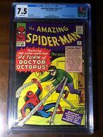 Amazing Spider-Man #11 (1964) - 2nd Doctor Octopus!!! - CGC 7.5!! - Key!!!