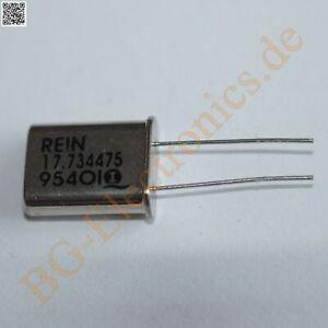 10 x Quarz 17.734475 MHz HC49 U  RQ17734475M49RFTGEG  HC49/U 10pcs