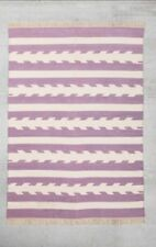 NWT Urban Outfitters 4040 Locust Washed Arrow A Woven Rug in Purple 2x3