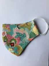 Reusable Face Mask 100% Cotton Fabric.Washable Breathable Nose  And Mouth Cover