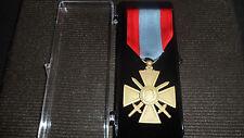 Médaille Ordonnance CROIX DE GUERRE TOE = Théâtres d'Opérations Extérieures