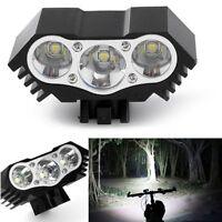12000Lm 3 x CREE XM-L T6 LED Bicycle Lamp Bike Headlight Cycling motorcycle Head