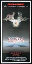 DEADLY FRIEND Original Daybill Movie Poster Wes Craven HORROR 1986