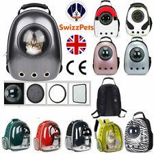 More details for pet carrier travel bag space capsule dog cat backpack for small cute pet handbag