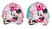 Minnie Maus Kappe für Kinder Sonnenschutz Cappy Basecap Baseball Cap Neuware