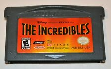 The Incredibles Nintendo Gameboy Advance Sp Gba Game