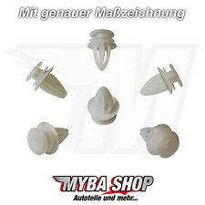 20x CLIPS sécurisation CLIPS Coussin OPEL ASTRA MERIVA 149910 FORD 9032112 NEUF