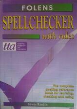 Spellchecker with Rules,Edwin Rankin