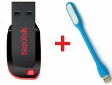 Sandisk 16GB Cruzer Blade Pendrive + USB LIGHT + warranty....