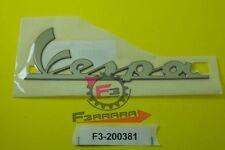 F3-2200381 Targhetta Laterale Piaggio Vespa LX 50 125 150  RESINA ADESIVA