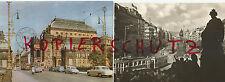 CSSR, Prag: Nationaltheater + Straßenbahnzüge 1963? + Prag Wenzelsplatz + Strab