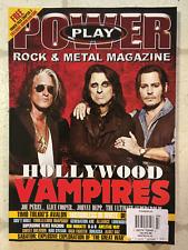 POWER PLAY ROCK & METAL Magazine HOLLYWOOD VAMPIRES Alice Cooper JOHNNY DEPP New