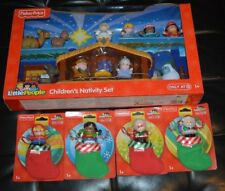 FISHER PRICE LITTLE PEOPLE ONLY AT TARGET CHILDREN'S NATIVITY SET & STOCKING SET