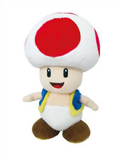 """New Little Buddy Super Mario 1417 All Star Collection - Toad 7.5"""" Stuffed Plush"""
