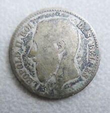 Monnaie de Belgique—1 franc—Leopold II—1867