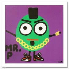 Mr. P LE Giclee on Canvas by TODD GOLDMAN
