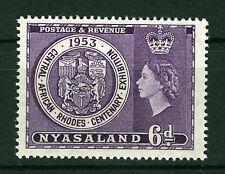 NYASALAND 1953 CENTENARY EXHIBITION SG171  MNH