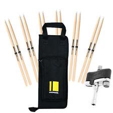 ProMark TX5AN Drum Sticks (6 pr) Stick Bag & Evans Torque Key Bundle
