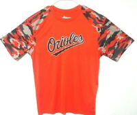 BALTIMORE ORIOLES / Adult TEE SHIRT / Large / Badger Sport / 100% polyester