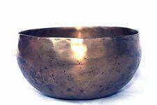 Klangschale Singing Bowl Tibet  Planetenton Jupiter Hörprobe Massage 1033g M69F