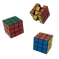 3pk - Mini Rubix Cube 3x3 Puzzle Game Magic Rubic Twist Toy Stocking Stuffer