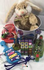 Easter Toy Basket Fillers Lot Toys Plush Figures